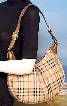 Burberry Haymarket Check Hobo. Burberry Haymarket Check Hobo Bag Sale, Brand  New ... 5204a82fc3