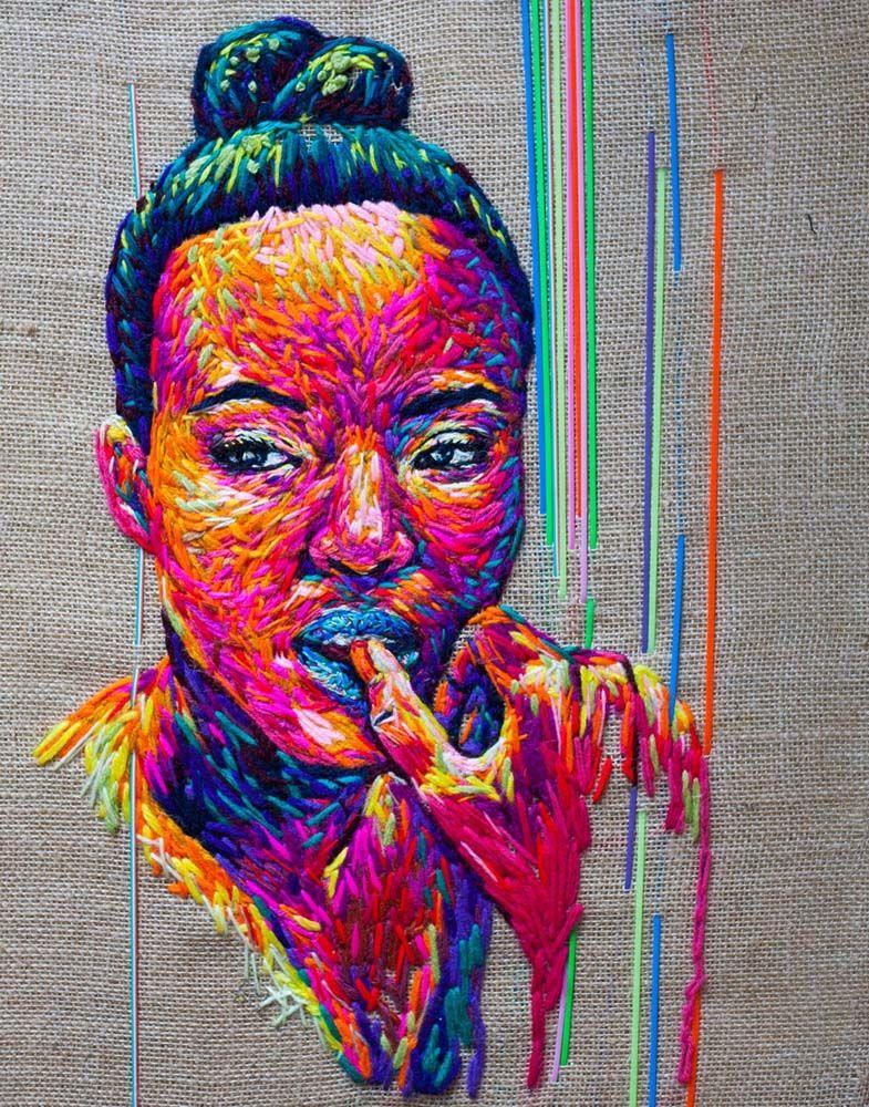 Cape Town, South Africa artist Danielle Clough Portrait