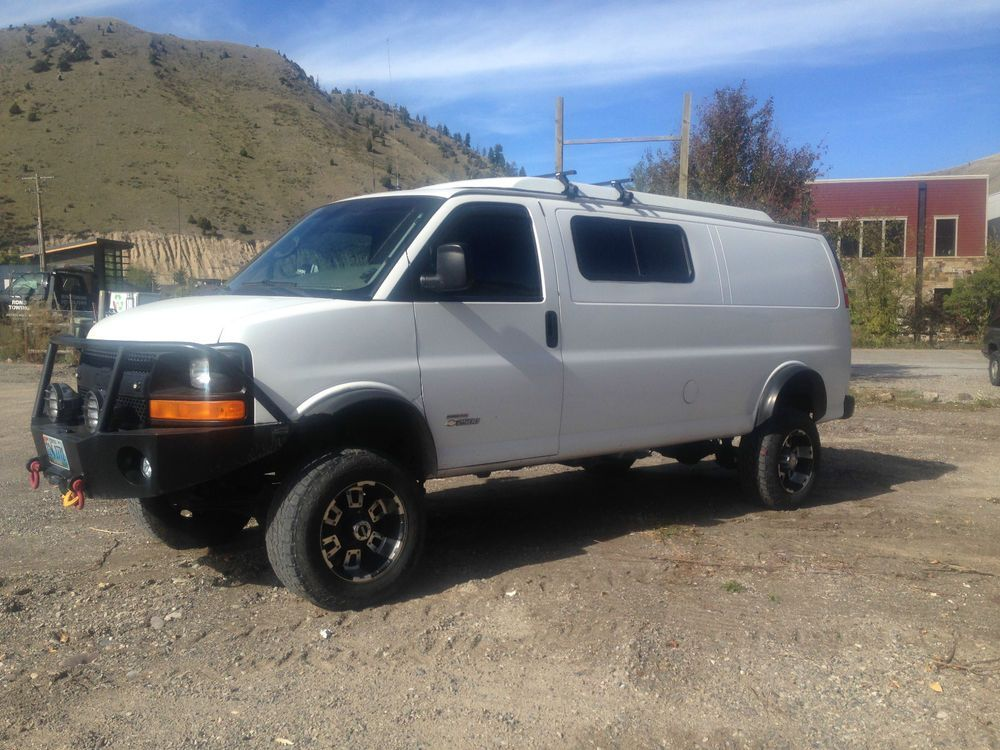 2006 Chevy Express Van 4x4 Duramax Diesel For 26k In Jackson Wy