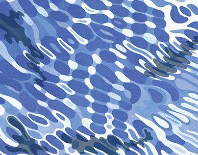 2015.09 Exhibition [ minima ] art works Tokyo aoyama on Behance #waterripples