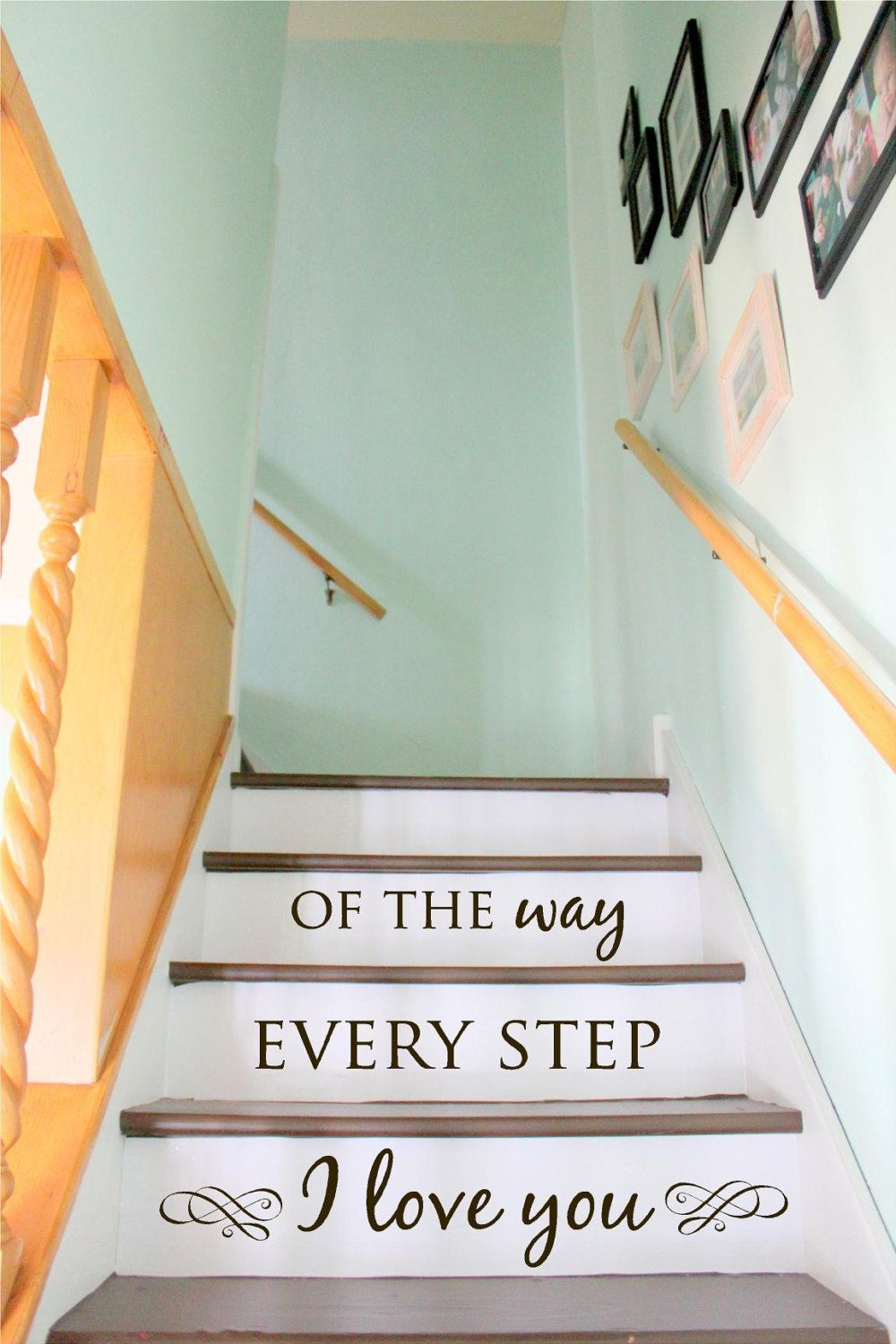 Stair Decal Staircase Ideas Stairway Ideas Stairs Quotes Etsy Stair Decals Staircase Decor Decor