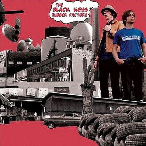 The Black Keys Rubber Factory Vinyl Lp The Black Keys Vinyl Blues