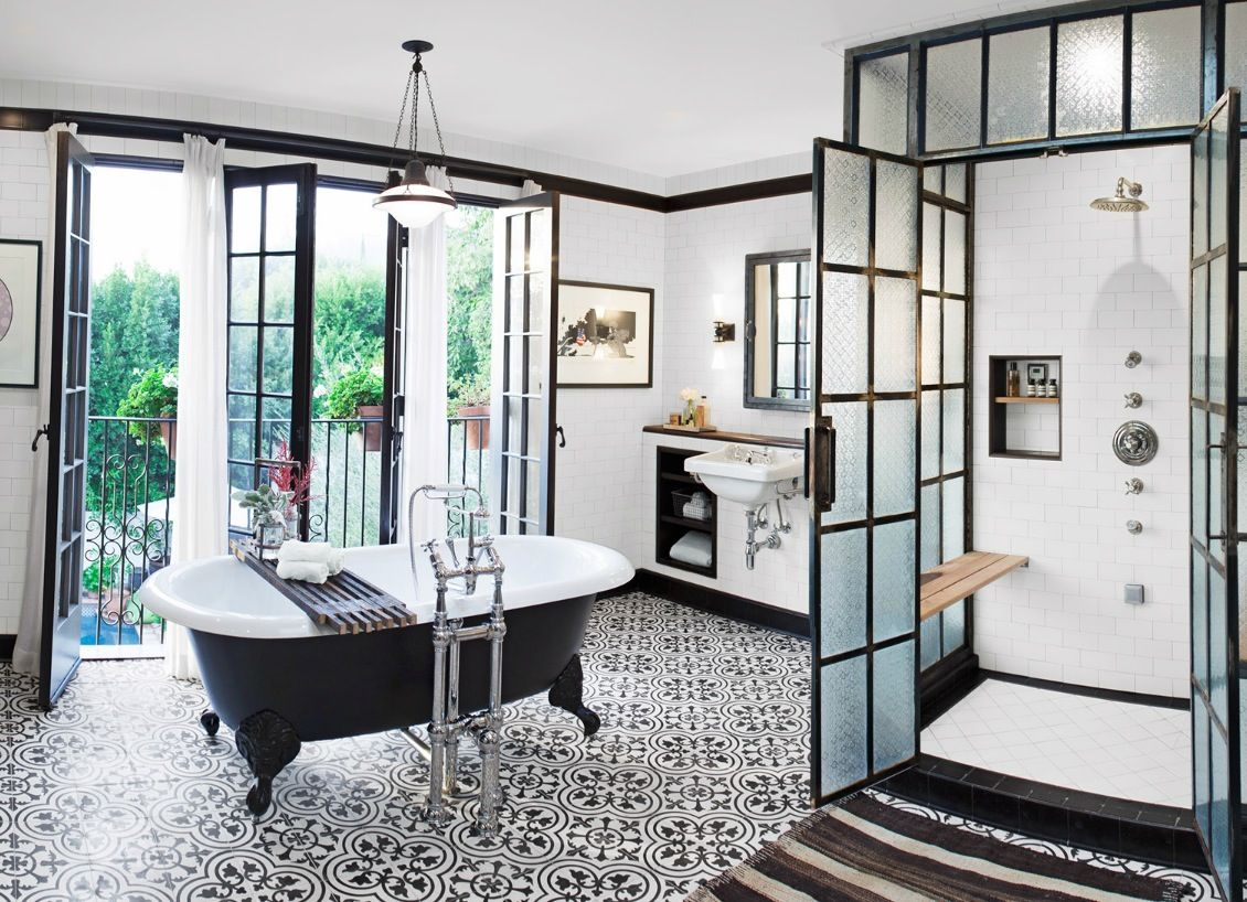 Spanish Revival Bathroom Home Home Decor Spanish