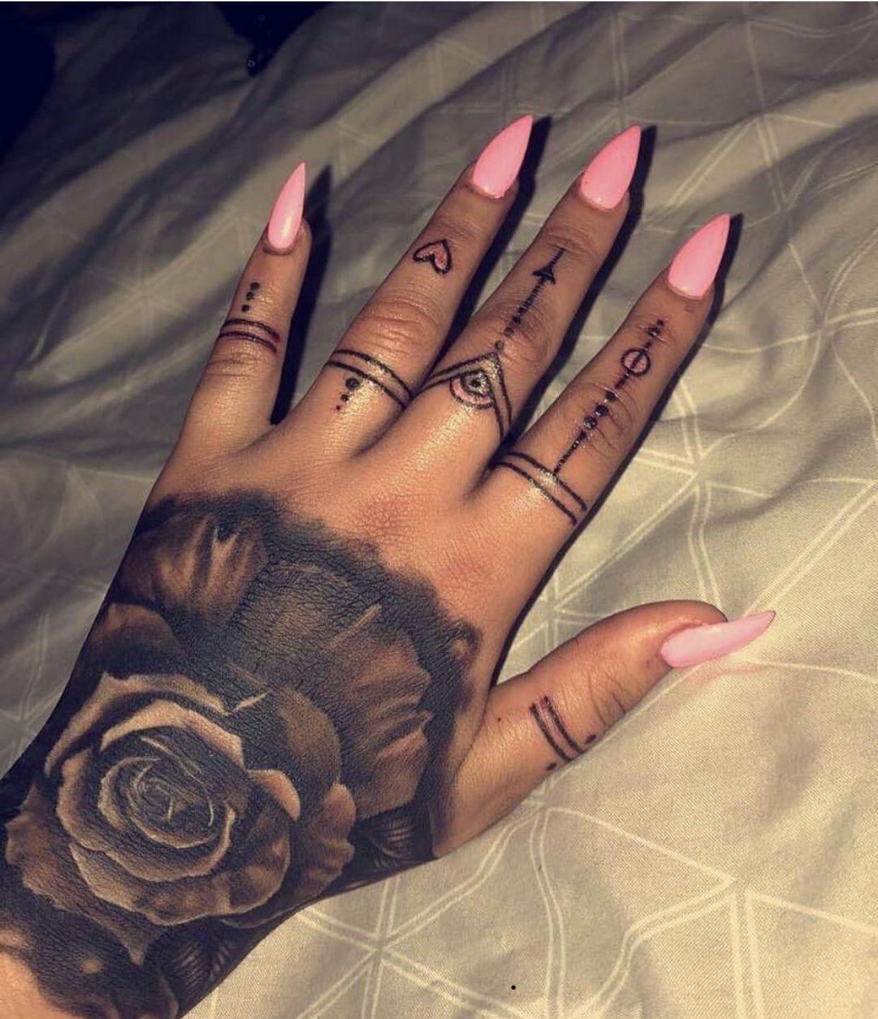 Follow Sunniesun Susie Hand Tattoos Tribal Hand Tattoos Hand Tattoos For Women