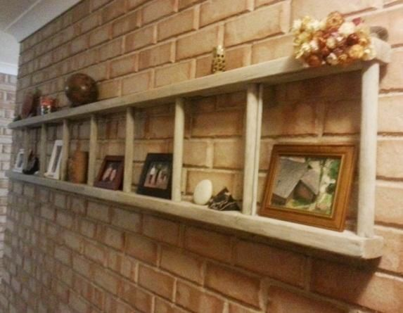 12 formas rústicas de reciclar una vieja escalera de madera - escaleras de madera rusticas