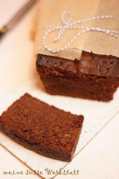 Schokoladen Karamell Kuchen