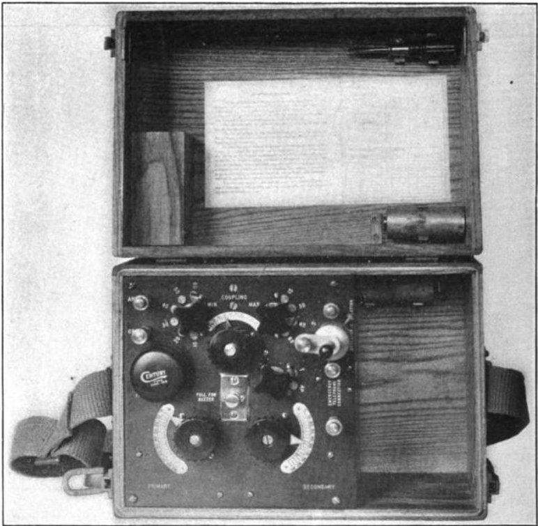 Signal Corps SCR-54A crystal radio - Radio a galena - Wikipedia, la