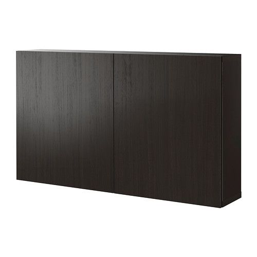 BESTÅ Shelf unit with doors IKEA A shelf unit/height extension unit makes maximum use of the wall space and keeps the floor space clear.