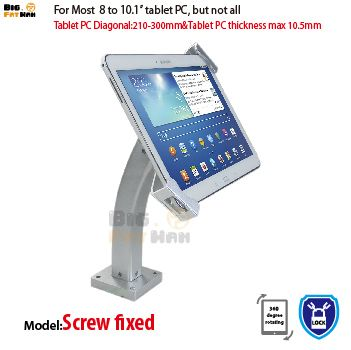 Universal Wall Mount Tablet Pc Anti Theft Holder Security Display Tablet Stand For 7 10 Inch Ipad Samsung Asus Acer Huawe Re Tablet Stand Tablet Samsung Tablet