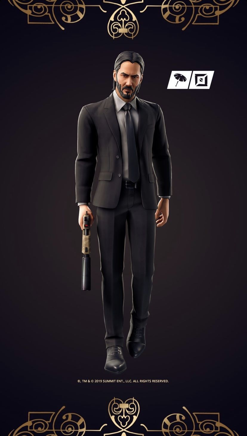 John Wick Skin Images Best Gaming Wallpapers Male Portrait