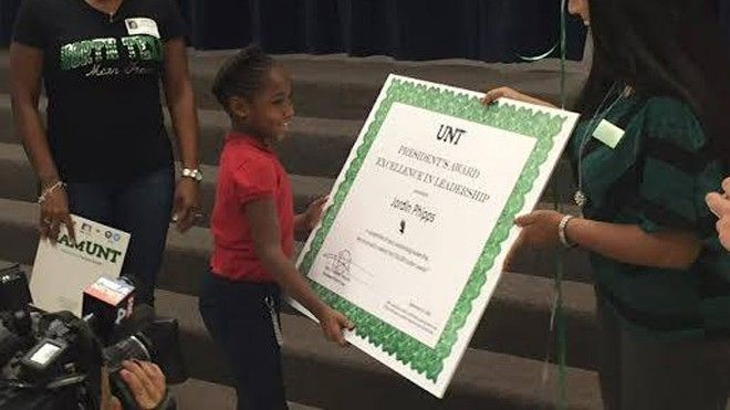 8 Year Old S Viral Video About Learning Lands Her Texas College Scholarship Scholarships For College Scholarships University Of North Texas