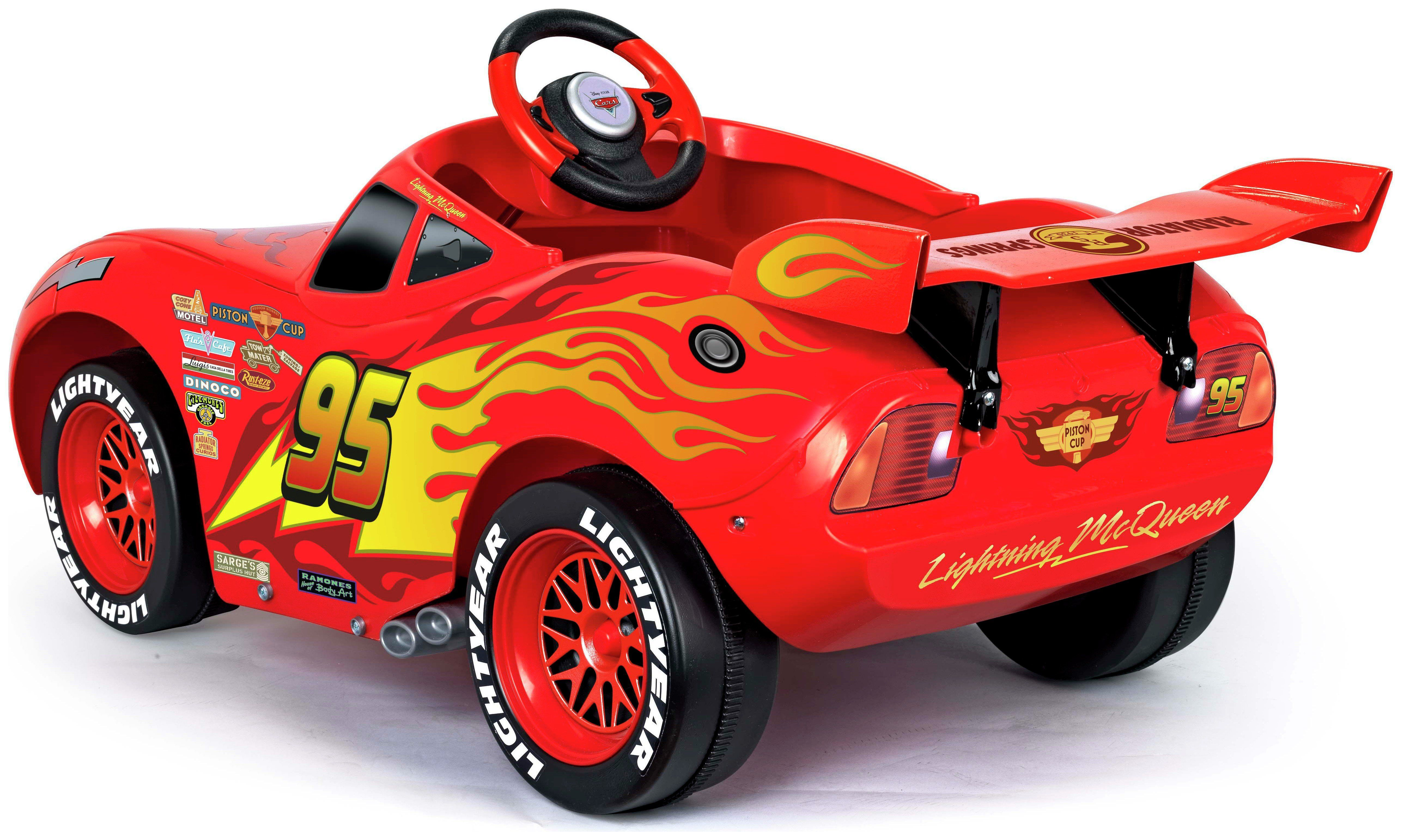 Disney cars 3 6v mcqueen powered car ride on in 2020