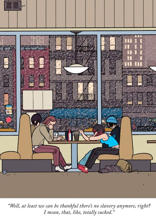 The New Yorker by Chris Ware
