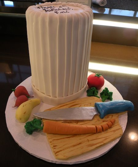 Chef Hat Cake Special Occasion Cakes Pinterest