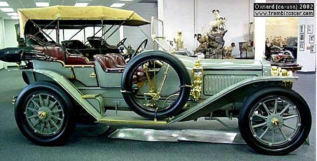 les voitures anciennes de 1900 1909 voitures anciennes dlozier type h touring voiture. Black Bedroom Furniture Sets. Home Design Ideas