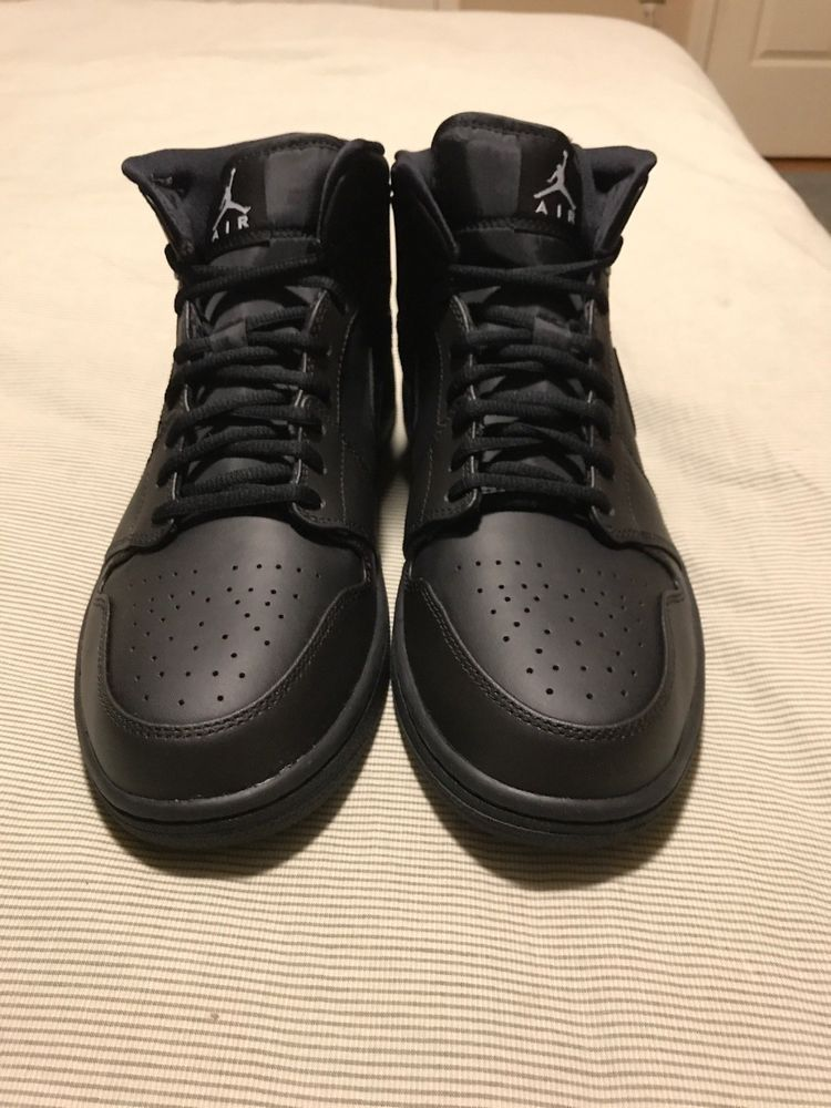 promo code 7f328 a5186 Air Jordan 1 Mid Black White 554724-034 Men s Size 11.5  fashion  clothing   shoes  accessories  mensshoes  athleticshoes (ebay link)