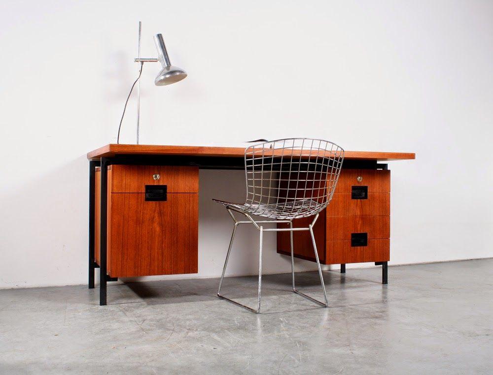 Design Meubels Groningen.Teak Desk Japanese Series Design Cees Braakman For Pastoe Sold
