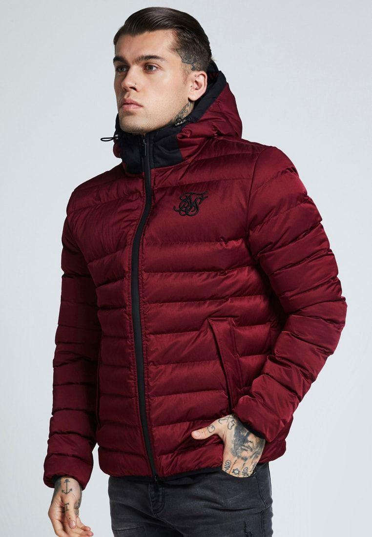 material seleccionado pulcro precio asombroso TARGET JACKET - Chaqueta de entretiempo - burgundy @ Zalando ...