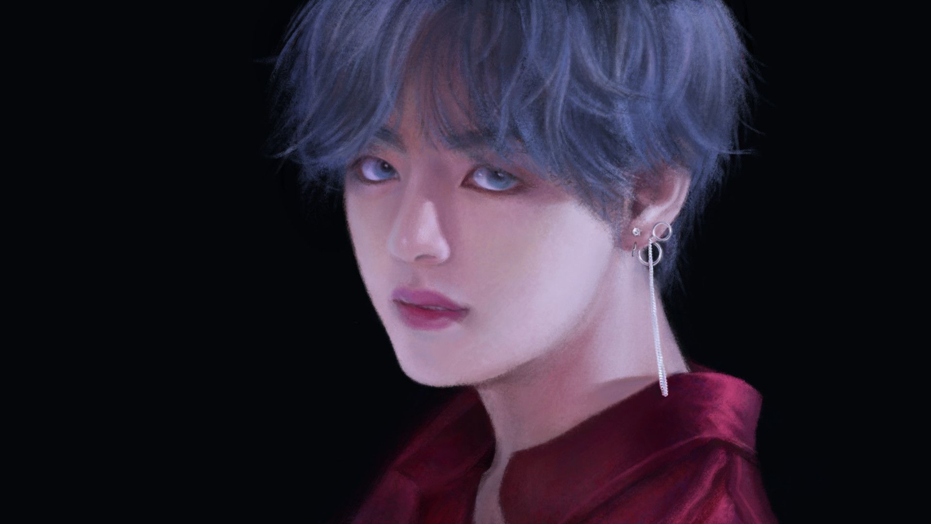 1920x1080 Gambar Anime Bts Hd 28 Anime Movie Bts V Desktop Wallpaper Foto Taehyung Fanart Kim Taehyung Taehyung