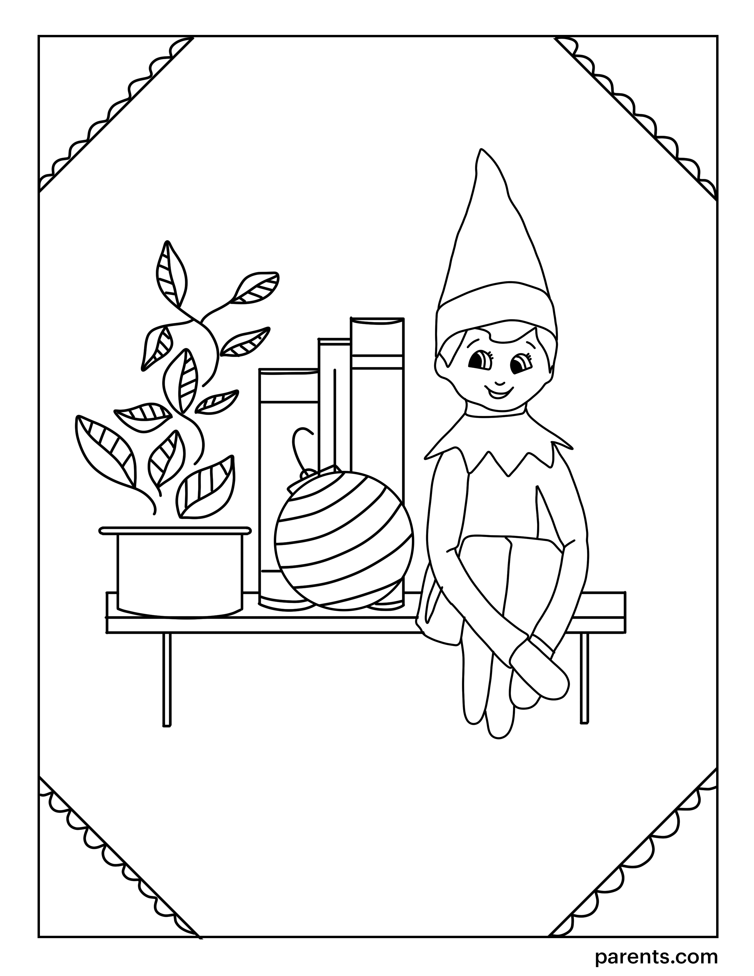 7 Elf On The Shelf Inspired Coloring Pages To Get Kids Excited For Christmas Printable Christmas Coloring Pages Merry Christmas Coloring Pages Christmas Coloring Printables
