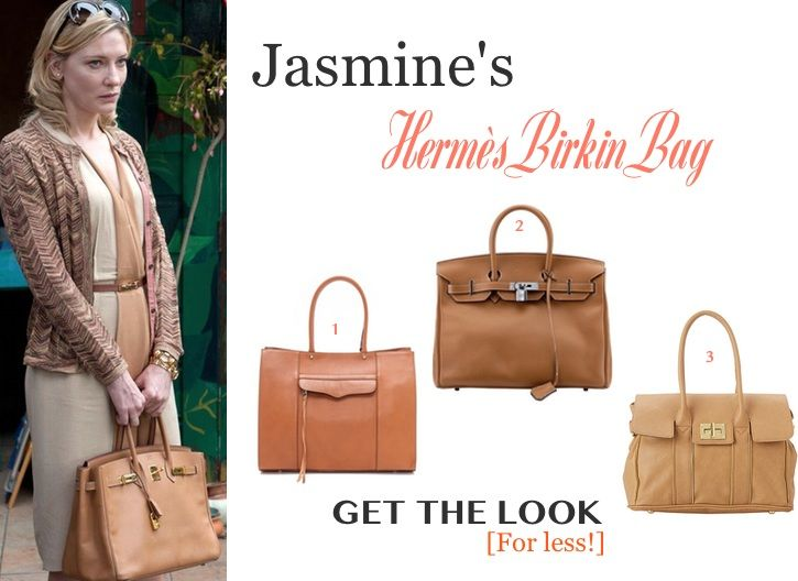 82656bd4864 Blue Jasmine  Find out how you can get the HERMES BIRKIN BAG look (worn by  Cate Blanchett in the movie) for less  getthelook  bluejasmine   cateblanchett ...