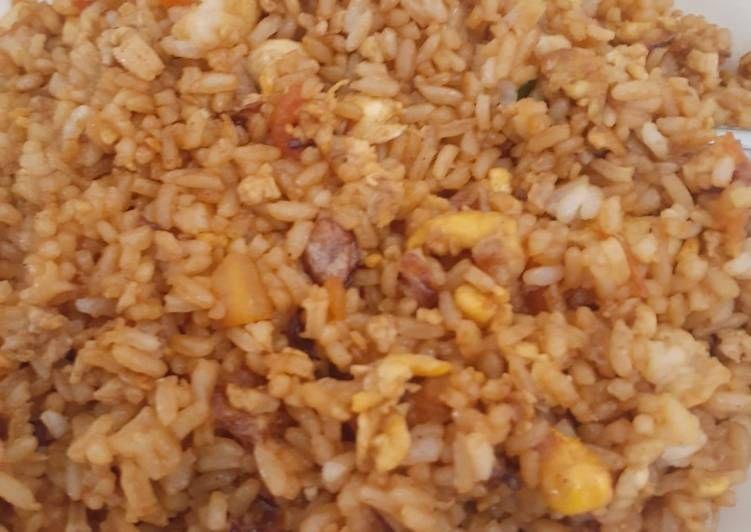 langkah langkah membuat nasi goreng rumahan enak resep   nasi goreng nasi resep Resepi Nasi Lemak Azie Enak dan Mudah