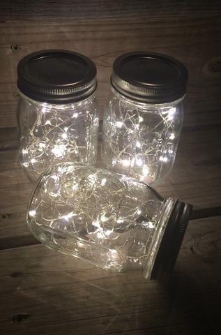 12 pack of mason jar lamps