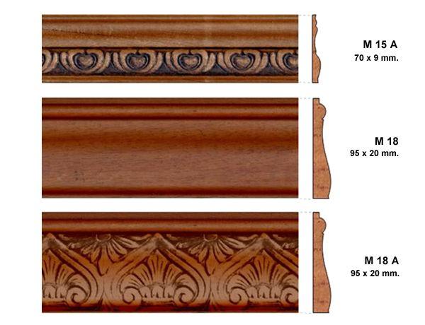 Molduras de madera google search barras y ardos para - Molduras para cocinas ...