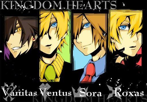 Rise (OC) (Kingdom Hearts   Ventus)   Dessin manga, Anime