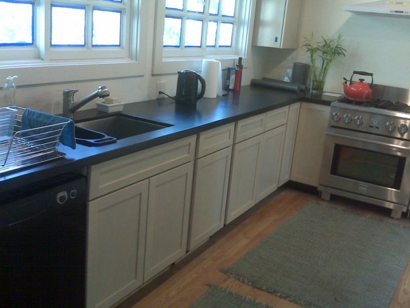 soapstone and white cabinets | Kitchen, White cabinets ...