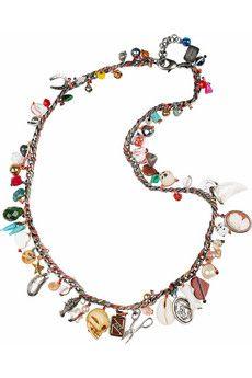 VENESSA ARIZAGA  Heroes and Villains charm necklace