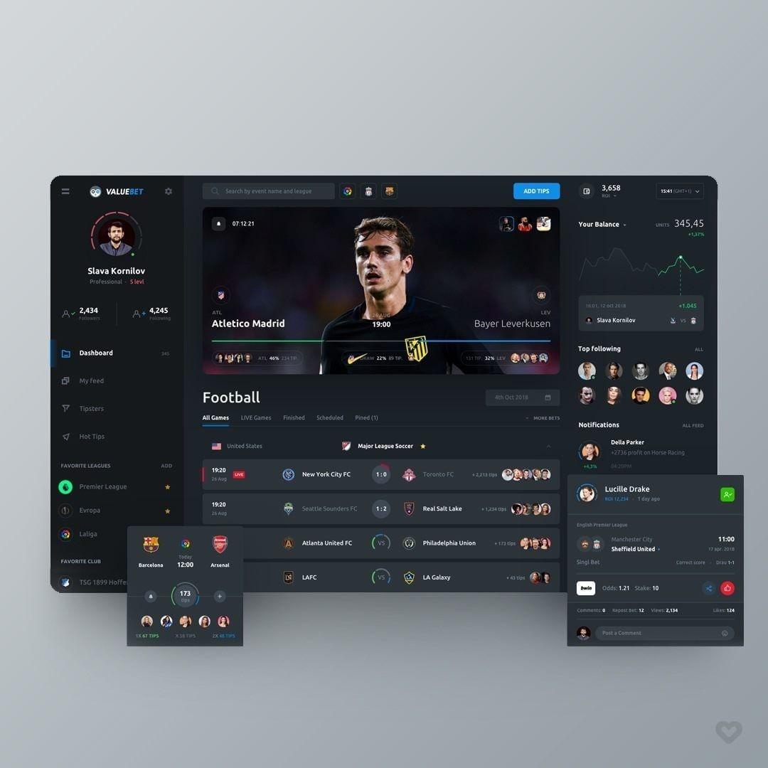 Football highlights mobile app tag your football fans