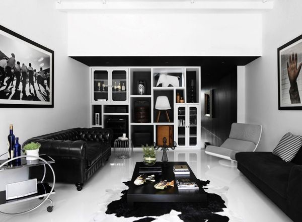 modern-black-house-interior-design-plans-in-singapore | Home Ideas ...