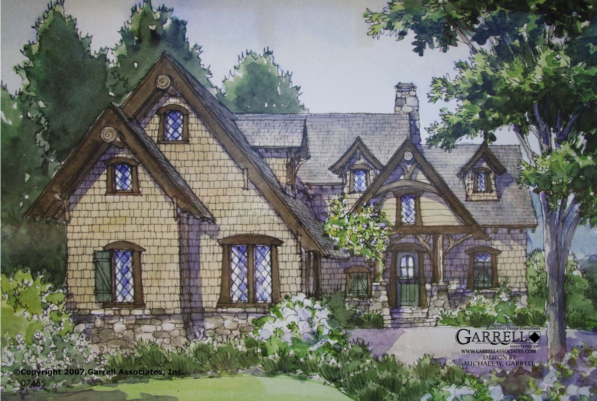 english cottage style home plans - English Cottage House Plans
