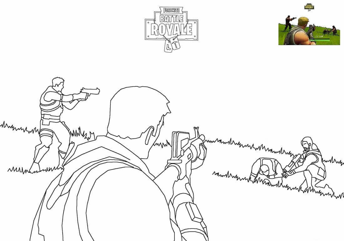 Free Printable Fortnite Coloring Pages Coloring Pages