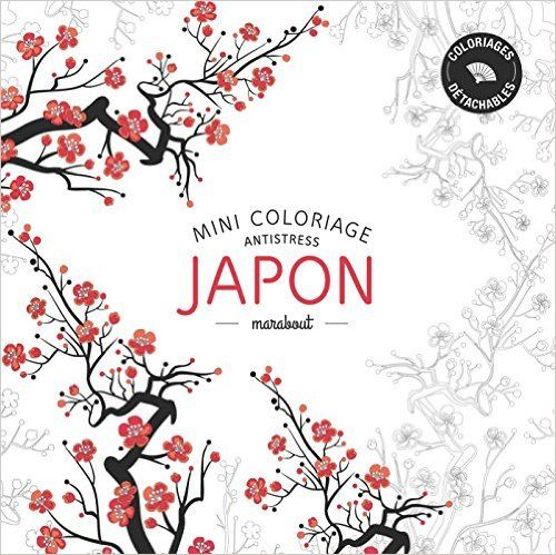 Japon Mini Coloriages Antistress Amazoncouk Marabout 9782501100632