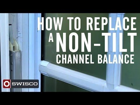 How To Replace A Channel Balance Swisco Mine Are