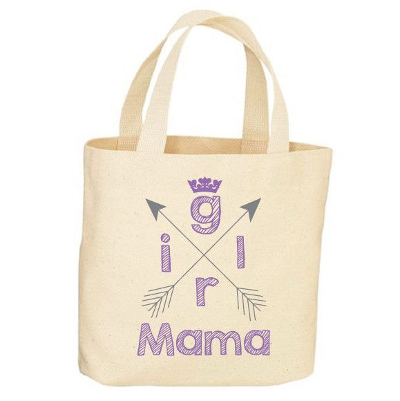 Girl Mama Tote Bag
