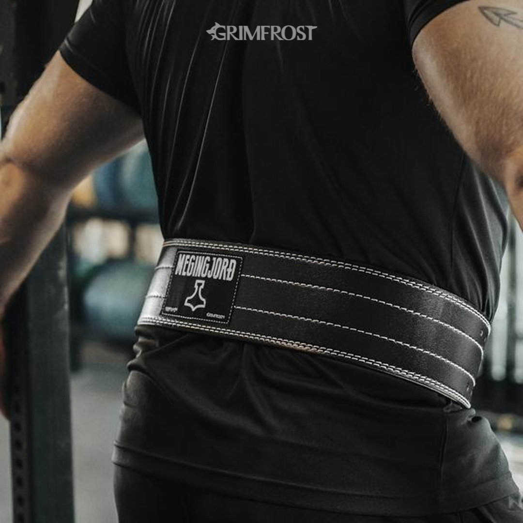 Weightlifting Belt, Megingjord (med bilder)