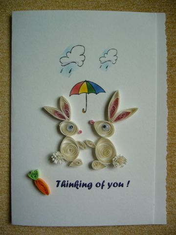Rabbits Quilting Craft Ideas Quilling Paper Quilling