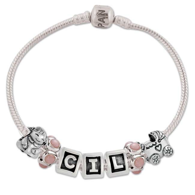 Pandora Baby Bracelet Christening Beads Sweet S
