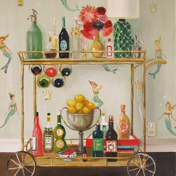 Photo of Barmaids – Janet Hill Studio Art Print