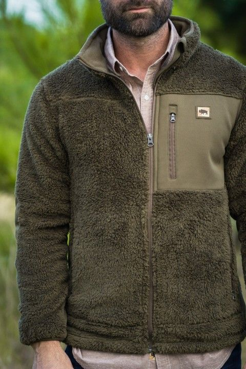 6840b6a1351 Kodiak Fleece Jacket - Birchwood Green