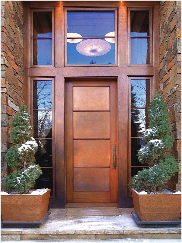 Model Pintu Utama Rumah Minimalis Modern Terlengkap Terbaru Pintu