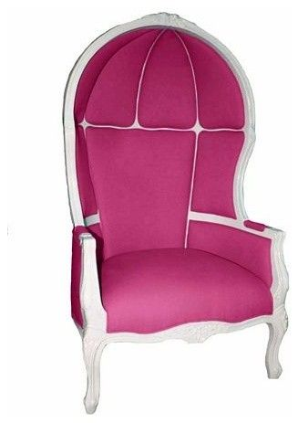 Power Pink Comfy Chair #colorsoftheweek