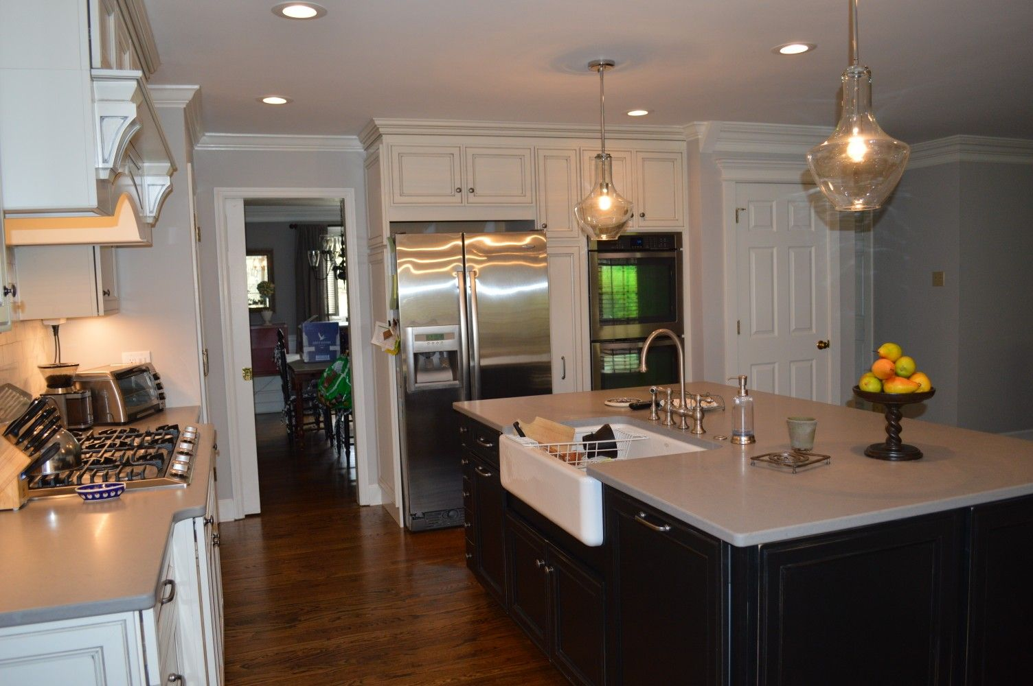 Kitchen Sales Was Proud To Be A Part Of This Beautiful Kitchen Remodel Installing Kemper Warwick Coconut Grey S Kitchen Sale Beautiful Kitchens Kitchen Remodel