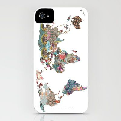 Map Iphone cover