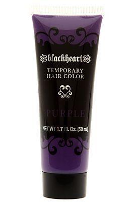 blackheart temp purple hair color