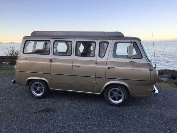 1965 Ford Econoline Travel Wagon Camper Vintage Vans Ford