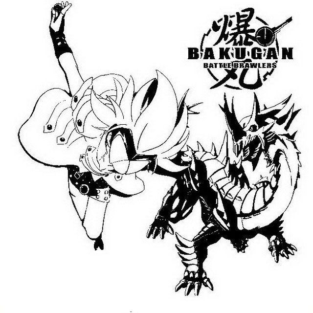 Bakugan 30 dibujos faciles para dibujar para niños